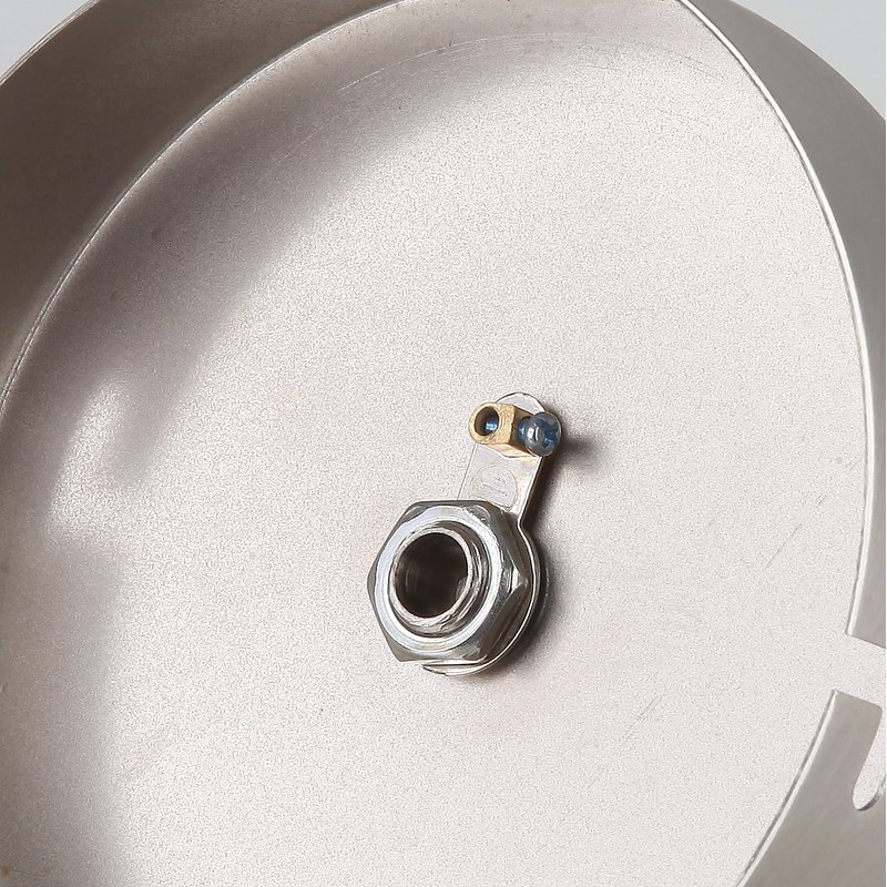 lampen metall baldachin 110x28mm edelstahloptik f r 1. Black Bedroom Furniture Sets. Home Design Ideas