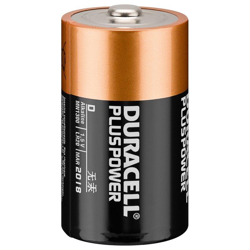LR20 Mono D MN1300 1,5V 2er Duracell Batterie, 5,95