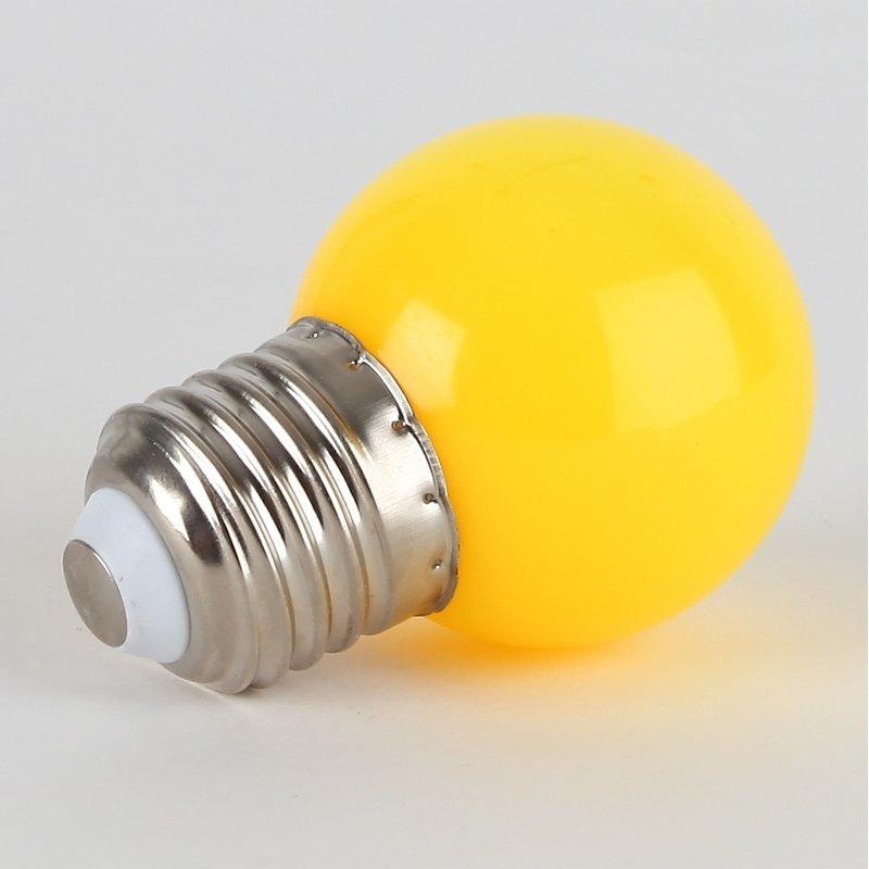 led leuchtmittel gelb tropfenform e27 sockel 220 240v 1w 4 15. Black Bedroom Furniture Sets. Home Design Ideas