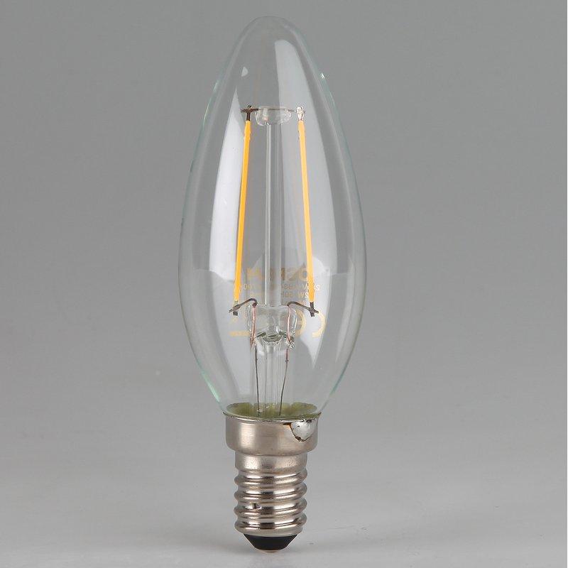 osram led filament leuchtmittel 4w 240v kerzen form klar e14 sockel w. Black Bedroom Furniture Sets. Home Design Ideas