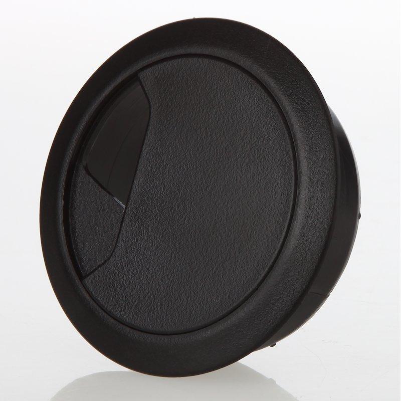 kabeldurchf hrung f r schreibtisch und arbeitsplatte schwar. Black Bedroom Furniture Sets. Home Design Ideas