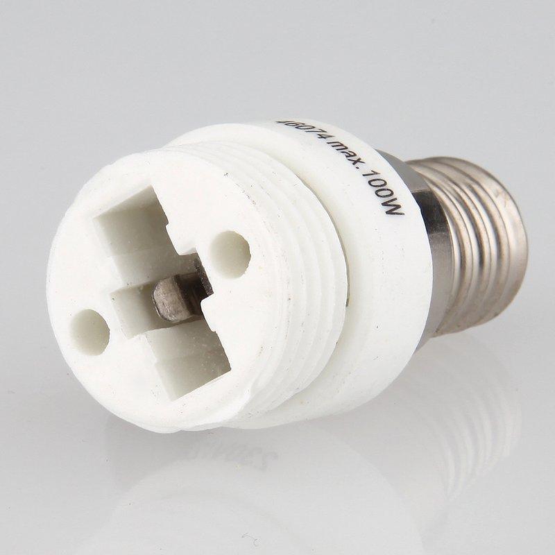 e14 auf g9 lampen fassung adapter keramik 2a 230v 125c. Black Bedroom Furniture Sets. Home Design Ideas